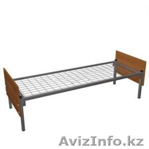 Кровати металлические двухъярусные для казарм, кровати трёхъярусные оптом - Изображение #5, Объявление #1421173