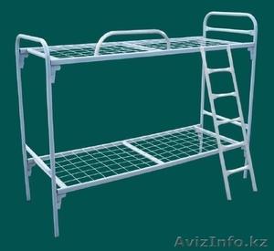 Железные армейские кровати, одноярусные металлические кровати для больниц, оптом - Изображение #3, Объявление #1417609