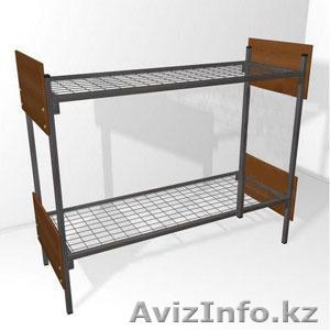 Кровати одноярусные металлические, кровати металлические двухъярусные. оптом - Изображение #2, Объявление #1428554