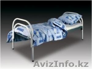 Кровати одноярусные металлические, кровати металлические двухъярусные. оптом - Изображение #3, Объявление #1428554